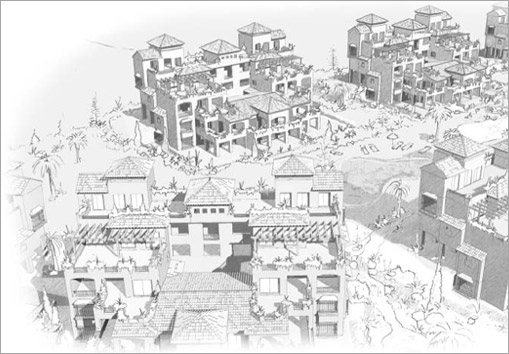 Altamira - Architects drawing. Click to enlarge.